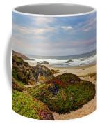 Colors And Texures Of The California Coast Coffee Mug