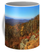 Colors Of Autumn In Shenandoah National Park Coffee Mug