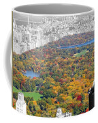 Colors Of Central Park Coffee Mug