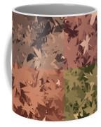 Colors Of Fall Leaves Abstract Coffee Mug