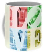 Colors Of Love Philadelphia Pa Coffee Mug