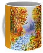 Colors Of Russia Autumn  Coffee Mug by Irina Sztukowski