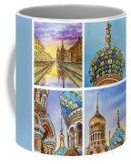 Colors Of Russia Church Of Our Savior On The Spilled Blood  Coffee Mug