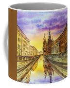 Colors Of Russia St Petersburg Cathedral I Coffee Mug by Irina Sztukowski