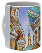 Colors Of Russia St Petersburg Cathedral II Coffee Mug
