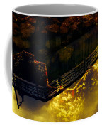 Colors Of The Sound Gold Coffee Mug