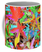 Coloured Leaves By M.l.d. Moerings  2009 Coffee Mug