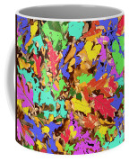 Coloured Oak Leaves By M.l.d. Moerings 2009 Coffee Mug