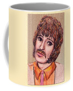 Coloured Pencil Portrait Coffee Mug