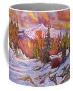Coloured Winter Coffee Mug