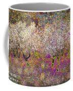 Colourful Almond Trees Coffee Mug