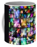 Colourful Fractal Jewels Coffee Mug
