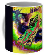 Colourful Journey In The Land Of Books Coffee Mug