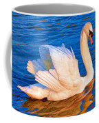 Colourful Swan Coffee Mug