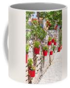 Colourful Flower Pots Coffee Mug