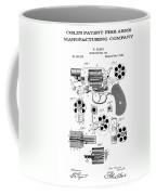 Colt Revolver Patent Art 3  -  1881  Coffee Mug