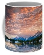 Colter Bay Sunset Coffee Mug