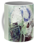 Colts Player Helmet Abstract Coffee Mug
