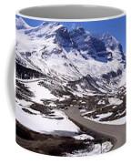 Columbia Icefields, Alberta - Panorama Coffee Mug