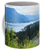 Columbia Lake Which Is Source Of The Columbia River-bc  Coffee Mug