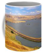 Columbia River In Oregon, Viewed Coffee Mug