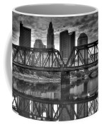 Columbus Ohio Downtown Bw Coffee Mug