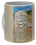Column Along Sacred Road In Pergamum-turkey  Coffee Mug