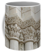 Column Relief Abbey Fontevraud  Coffee Mug
