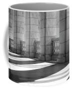 Columns And Shadows Coffee Mug