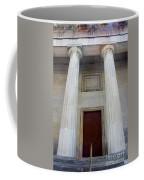 Columns Of Second Bank In Philadelphia Coffee Mug