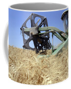 Combine Harvester  Coffee Mug by Shay Fogelman
