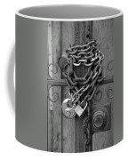 Come On In In Black And White Coffee Mug