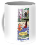 Come On In, The Water's Fine Coffee Mug