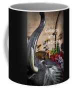 Come On Let's Celebrate Coffee Mug by Kathy Clark