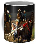 Horse Racing Come On Number 6 Coffee Mug