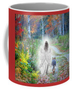 Come Walk With Me Coffee Mug by Sue Long