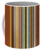 Comfortable Stripes V Coffee Mug by Michelle Calkins