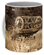 Comgine Wheel In Sepia Coffee Mug