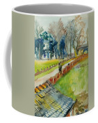 Coming Home From Work, 1982 Wc On Paper Coffee Mug