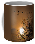 Coming Home In The Spring Coffee Mug by Bob Orsillo