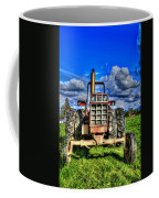 Coming Out Of A Heavy Action Tractor Coffee Mug