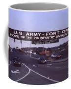 Fort Ord  Commander  Major General Marvin L. Covault  7th Infantry Division 1992 Coffee Mug