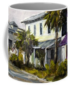 Commerce And Avenue D Coffee Mug by Susan Richardson