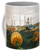 Commercial Fishing In The North Atlantic Coffee Mug