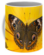 Common Buckeye Butterfly Coffee Mug
