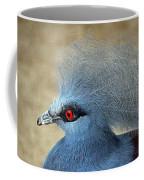 Common Crowned Pigeon Coffee Mug