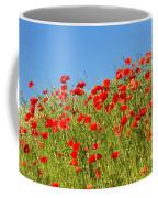 Common Poppy Flowers  Coffee Mug