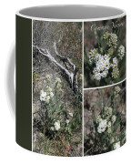 Common Yarrow Collage Coffee Mug