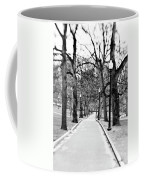Commons Park Pathway Coffee Mug by Scott Pellegrin
