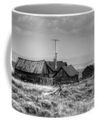 Como In Black And White Coffee Mug